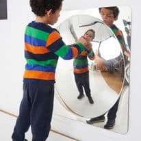 Giant Single Domed Mirror panel