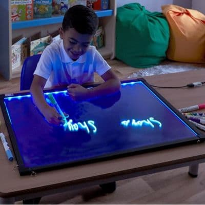 Glow Writer Panel,Hope Education Glow Writer Panel, LED Light Up Writing Boards,Sensory LED writing boards,LED Light Up Writing Boards