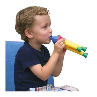 Halilit Train Whistle,Sensory Toys, Special Needs Toys, Train noise maker, Whistling Train, Whistle instrument, auditory skills, musical instruments for children with special needs, musical instrument for adults with dementia