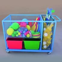 Heavy Duty Sports Storage Trolley