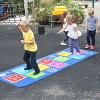 Hopscotch Carpet Outdoor
