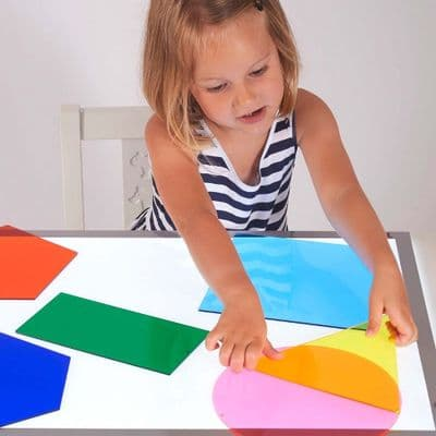 Jumbo Colour Mixing Shapes,Jumbo Colour Mixing Shapes,colourful transparent and opaque acrylic paddle shapes,coloured paddles,coloured acrylic shapes,acrylic paddles shapes for light box panel,coloured paddle shapes for light box panel