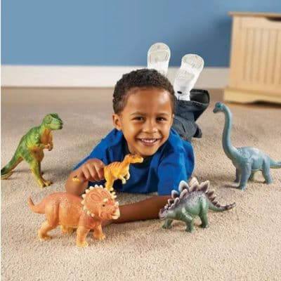 Jumbo Dinosaurs,Dinosaur toys,Jumbo dinosaur toys,learning resources jumbo dinosaurs,early years resources, educational resources, educational materials, children's learning resources, children's learning materials