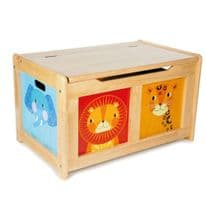 Jungle Toy Chest Natural