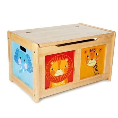 Jungle Toy Chest Natural,Jungle Toy Chest,Toy storage,Toy chest,Childrens toys storage box,Toy box,Wooden toy box,traditional wooden toy chest box