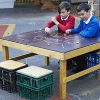 Ks1 Nesting Crate Chalk Table