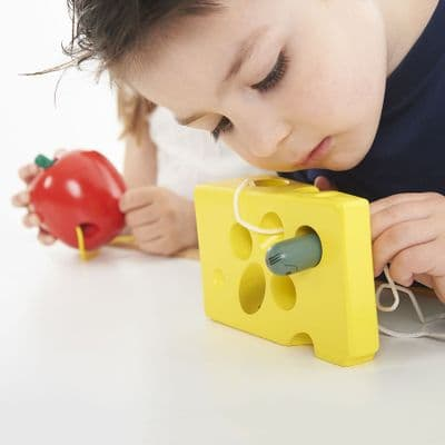 Lacing cheese,Threading toys,threading games,special needs threading games,childrens threading toys,autismwestmidlands discount code