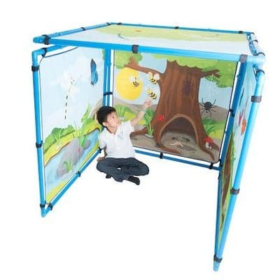 Learning Den  Mini Beasts,Sensory den,early years dens,classroom dens,nursery play den,childrens sensory den