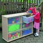Leave Me Outdoors Large Storage 6 Tray Unit