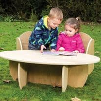 Leave Me Outdoors Outdoor Toddler Table