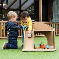 Leave Me Outdoors Role Play Garage