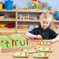 Magnetic Learning Letters Lowercase Set