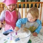 Messy Play Corn Flour