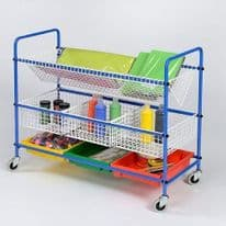 Metal Art Equipment Trolley