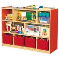 Milan 8 Compartment Cabinet Various colours