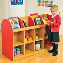 Milan Double Sided Book Storage Unit