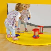 Mirror and Soft Play Mat