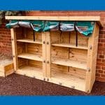 Nature Outdoor Double Storage Unit