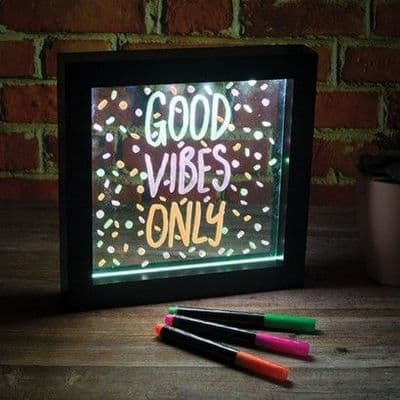 Neon Message Writing Board,Sensory Illuminated Writing Board,A4 Illuminated Writing Boards 4pk,Sensory light panel,round light panel, school resources, resources for children, reception resources