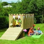 Outdoor Wooden Play Castle