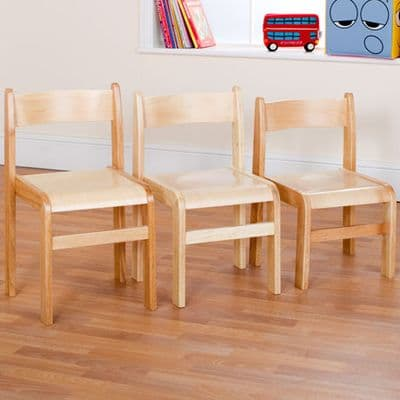 Pack of 2 Tuf Class Natural Wood Chairs,school chairs,wooden school chairs