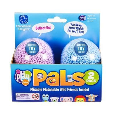 Playfoam Pals Wild Friends 2 Pack,Play Foam School Value Pack,playfoam super saver set,materials and their properties,science,early years resources, educational resources, educational materials, children's learning resources, children's learning materials, teaching resources for children, teaching material for children