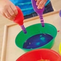 Primary Science Jumbo Eyedroppers with Stand