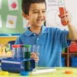 Primary Science® Jumbo Test Tubes with stand