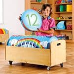 Rainbow Counting Cushions Set Tuf 2 Trolley