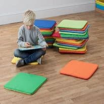 Rainbow Square Cushions Set of 32