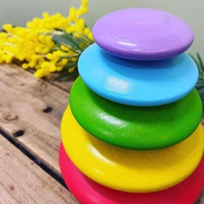 Rainbow Stacking Pebbles,Wooden Stacking Pebbles,Stacking Pebbles,sensory pebbles,wooden pebble toys,,bigjigs stacking pebbles