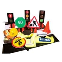 Role Play Super Deluxe Road Safety Set