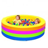 Round Ball Pool with 1000 Balls