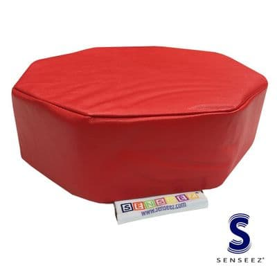 Senseez Vibrating Red Octagon Cushion,autism vibrating cushion,asd vibrating cushion