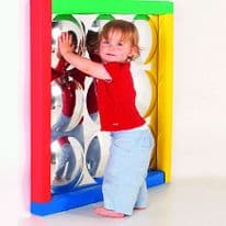 Sensory Bubble Mirror Multicolour