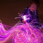 Sensory Fibre Optic Lighting Kit Uv Reactive