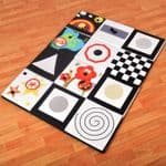 Sensory Floor Pad Black and White