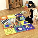 Sensory Floor Pad Colourful
