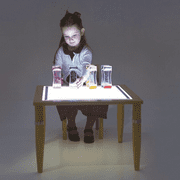 Sensory Light Panel Table