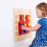 Shape Maze Manipulative Wall Panel