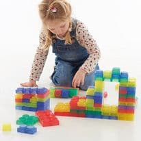 SiliShapes Soft Bricks Pk24