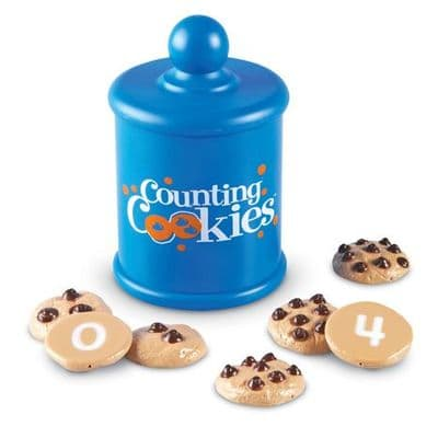 Smart Snacks Counting Cookies,Learning Resources Smart Snacks Counting Cookies,number recognition games,numeracy resources,school numeracy resources,school classroom resources