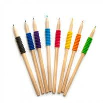 Soft Grip Colouring Pencils 8 Pack