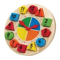 Sorting and Teaching Clock
