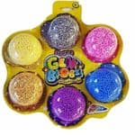 Sparkle Gelli Blobz Squishy Fun Foam Six Pack