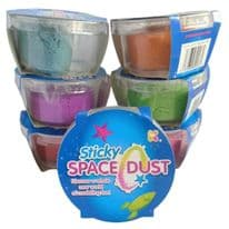 Sticky Space Dust