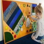 Tactile Panel with Decorative Elements
