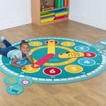 Tell the Time Circle Mat & Accessory Pack