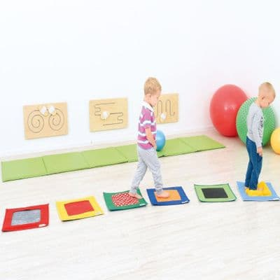 Textured Squares,Sensory balancing toys,early years balancing games,balancing practice games,gross motor skills early years,tactile resources