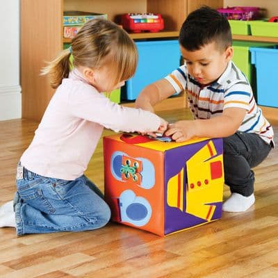 The Getting Ready Cube,Special needs life skills ideas,special needs sensory toys